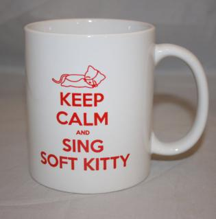 Big Bang Theory Inspired Soft Kitty Mug